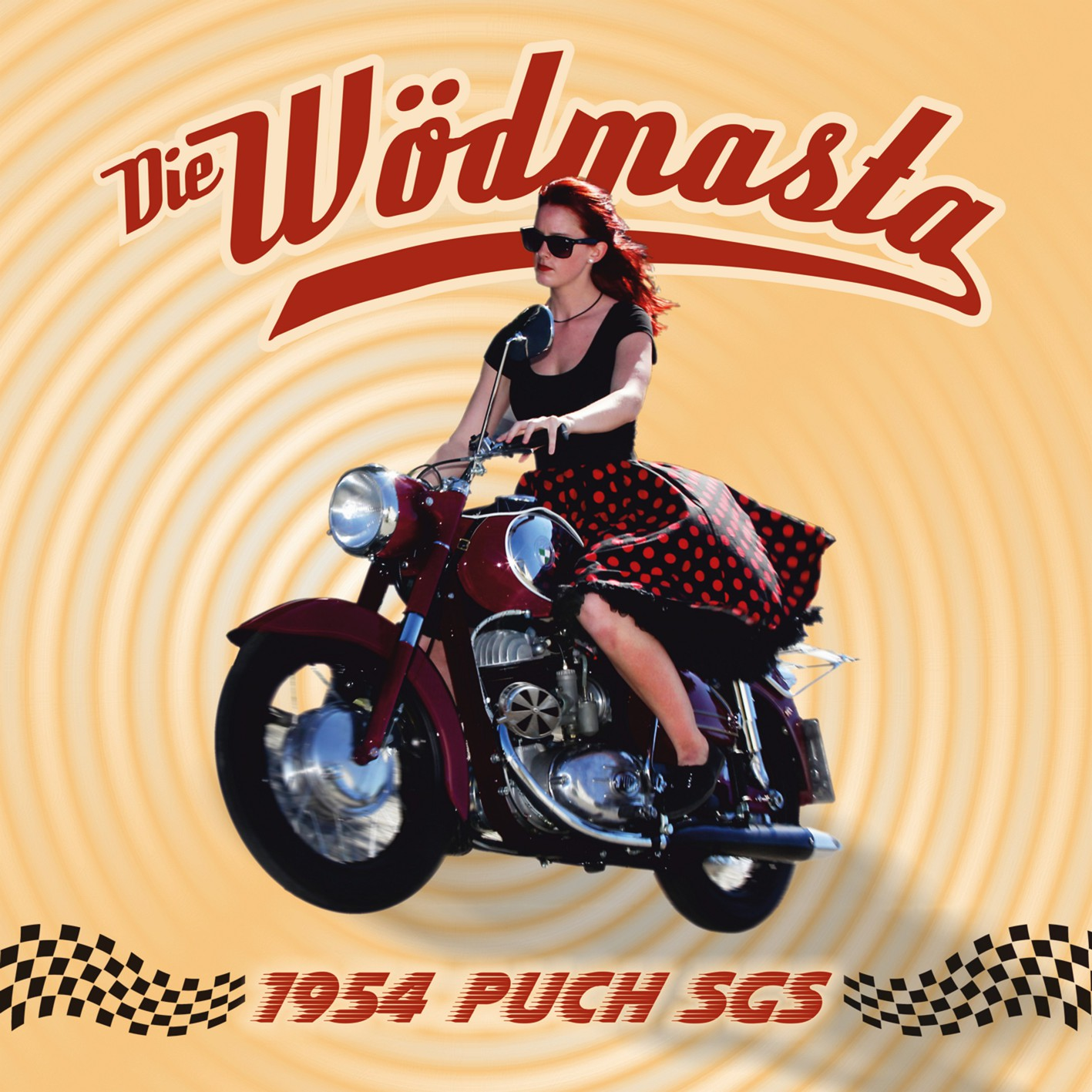 "DIE WÖDMASTA - Single-CD ""54er Puch"""