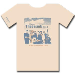 HANS THEESSINK BAND - T-Shirt